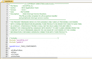 修改keil5中的字体为微软雅黑